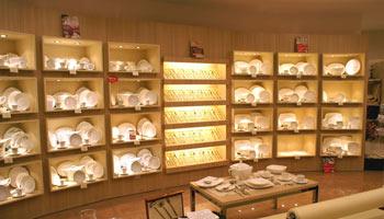 züccaciye mağaza dekorasyonu
